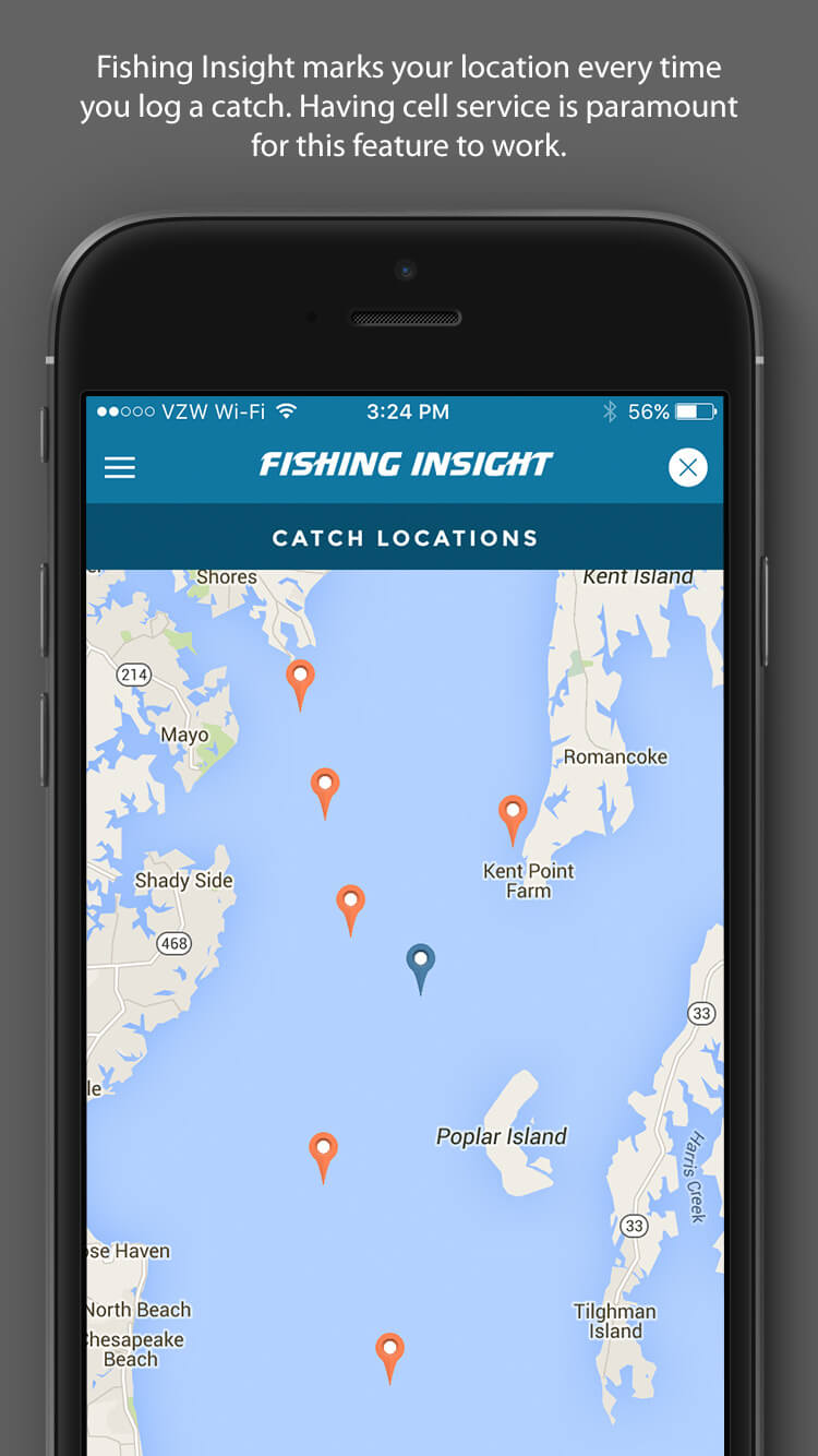 Fishing Insight - Catch Locations